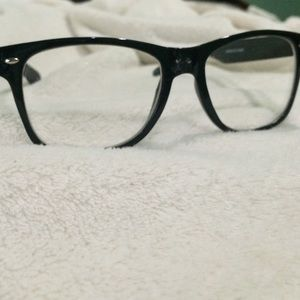 Accessories - Fashion piece clear glasses black frame