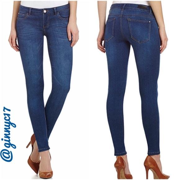 86401d2048ccc Celebrity Pink Comfort Fit Dark Wash Skinny Jeans