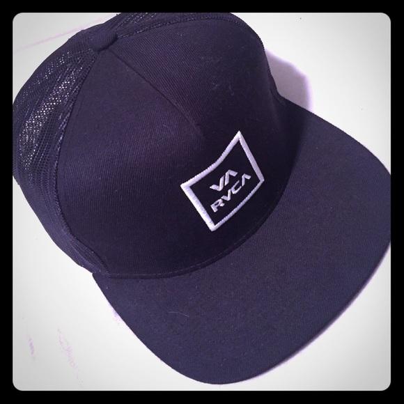 39fbddaee4d94e RVCA Accessories | Hat Black One Size | Poshmark