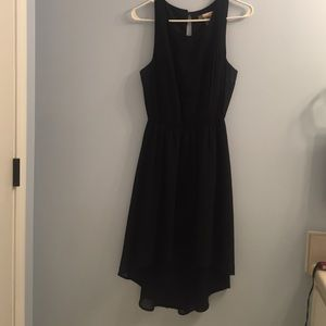 Forever 21 High-Low Black Dress