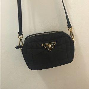 805aa05f34d9 Prada Bags | Black Nylon Crossbody Camera Bag | Poshmark