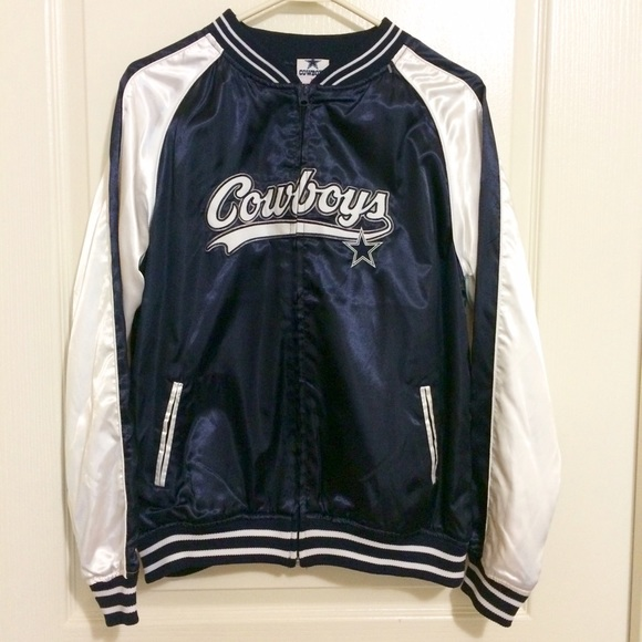 finest selection 7ea78 6bad1 Dallas Cowboys Bomber Jacket
