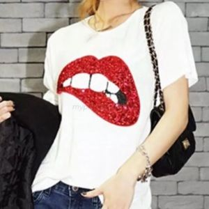 Boutique Tops - Jolie Embellished T-Shirt