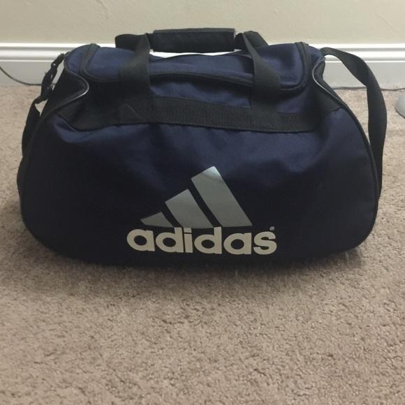 Adidas Handbags - Navy Blue Adidas Gym Bag