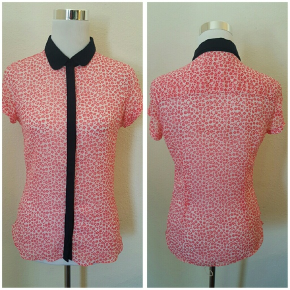 Zara Peter Pan Collar Blouse 55