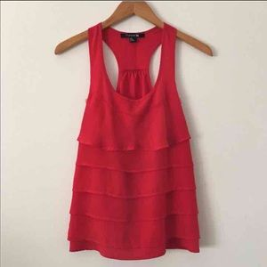 Forever 21 True Red Tank Sz S