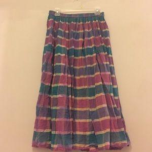 Vintage 1980's Maxi Skirt