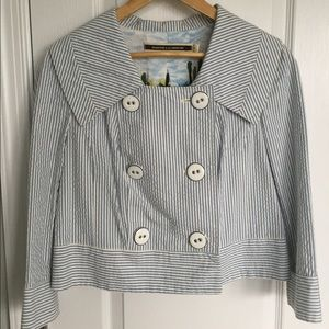 Anthropologie Thursday Cropped Blazer