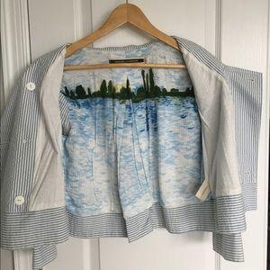 Anthropologie Jackets & Coats - Anthropologie Thursday Cropped Blazer