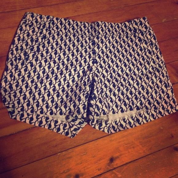 Jcrew seahorse shorts EUC 12