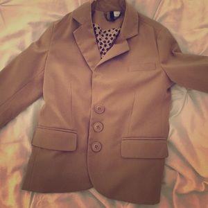 H&M tan blazer