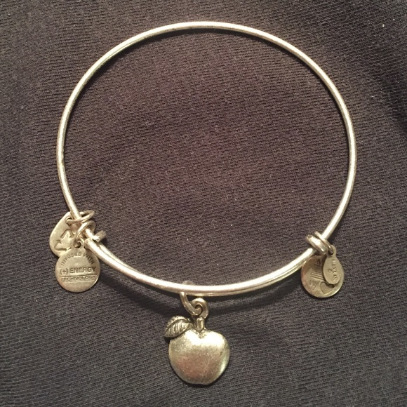 f956715c78c25 Alex and Ani Apple (Teacher) bracelet