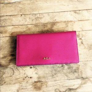 Ralph lauren card wallet wallet design ralph lauren bags wallet billfold credit card wallet poshmark reheart Images
