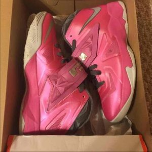 a6dd4a0d4a3 Women s Lebron Breast Cancer Shoes on Poshmark