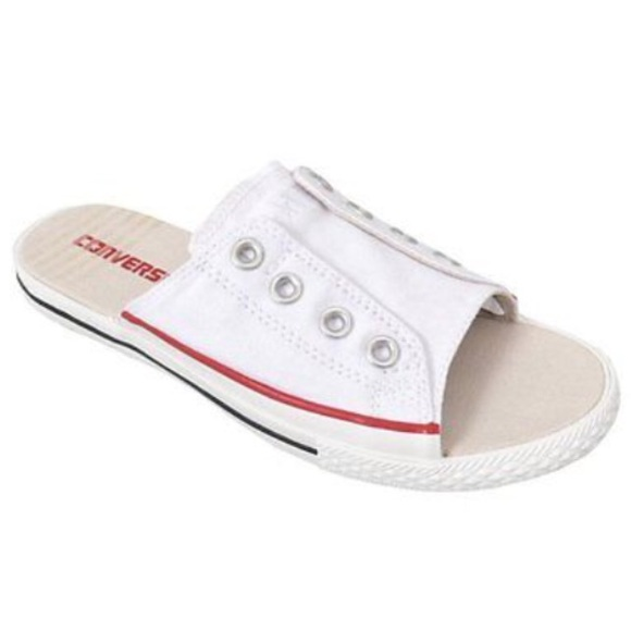 2c392063b529 Converse Shoes - White converse cut away sandals