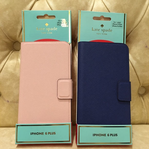 buy online 70f1f 76abf NWT Kate spade iPhone 6/6S plus leather folio case Boutique