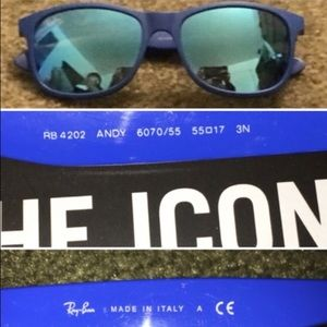 0fed72127494eb Ray-Ban Accessories - Ray-ban ANDY Sunglasses RB4202 I 6070 55