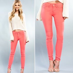 Blackberry Boutique Pants - New Pink Paradise Skinny Jeggings
