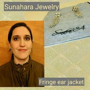 Sunahara Jewelry Jewelry - Sunahara Anthropologie fringe chandelier earrings