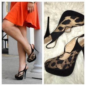 Marco Santi Shoes - ⚡️FLASH SALE ⚡️Posh Leopard Print Stilettos