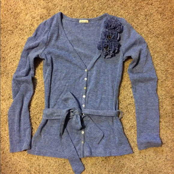 73% off I am basic Sweaters - ⭐️SALE⭐️Periwinkle Blue Sweater ...