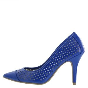 Christian Siriano Shoes - Perforated mesh lined pump NWOB