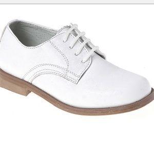 Josmo Shoes - Boys white communion shoes