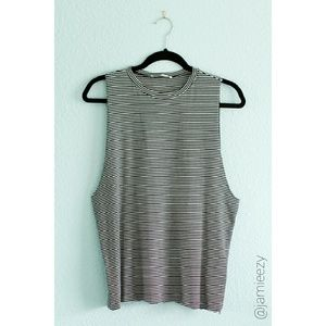 Honey Punch | NWT Striped Muscle Tank