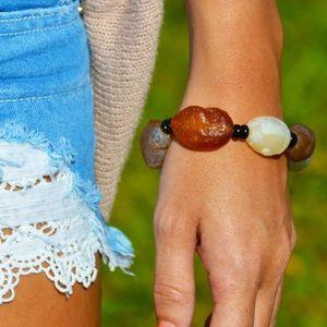 Blackberry Boutique Jewelry - Stone Beach Bracelet