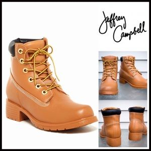 Jeffrey Campbell Shoes - Jeffrey Campbell Rain Boots Vegan Leather