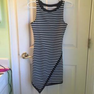 Jack by BB Dakota Dresses & Skirts - Black and white Striped dress, new
