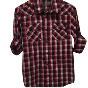 Helix Tops - Red Flannel