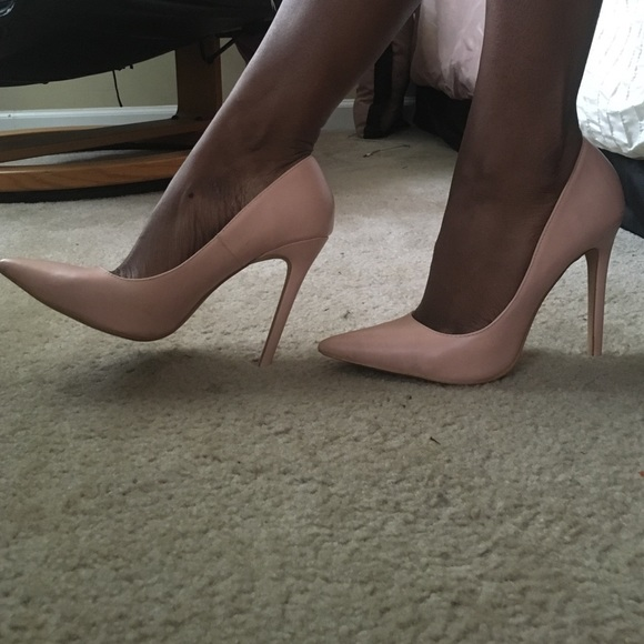 49ea5a4174ce Blush pink stiletto pumps. M 570e53e0620ff7c8b4002014
