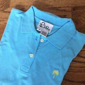 Lilly blue ss polo