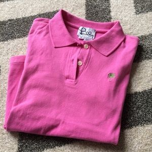Lilly pink ss polo
