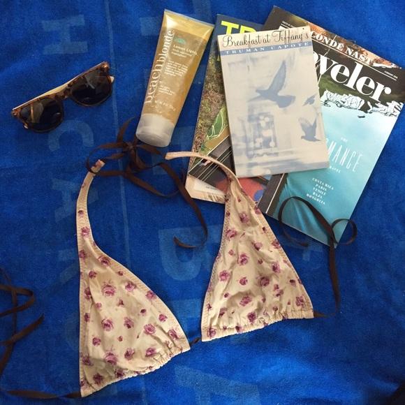 17e76fad7cad8 Malia Mills Swim | 90 Off Bikini Top Moving Sale | Poshmark