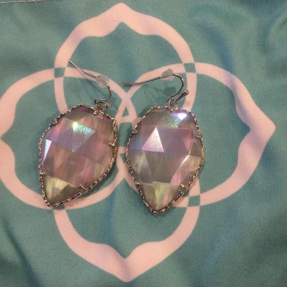 Kendra Scott Jewelry Kendra Scott Iridescent Slate Silver Corley