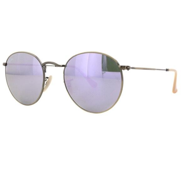 86d019fc870 RayBan Round Metal Lilac Sunnies. M 570e7abef0137de4010206dc