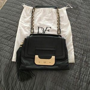 Diane von Furstenberg Handbags - Black Diane Von Furstenberg Harper Bag.