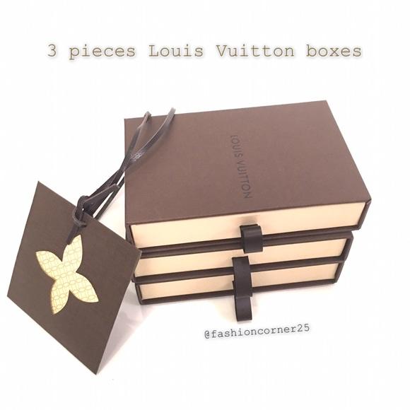 e1448f6be75b Louis Vuitton Accessories - 🆕 Louis Vuitton Small Wallet boxes  drawer box