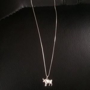 Jewelry - Bull Sterling Silver Necklace