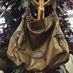Gia Milani Handbags - Bronze Purse