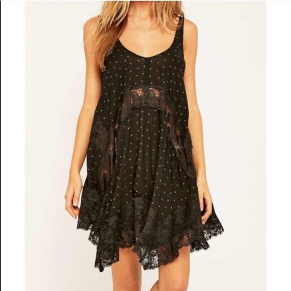 536f3e16303 Intimately Free People black lace slip never worn!