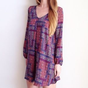 LAST ITEM | new | patterned shift dress