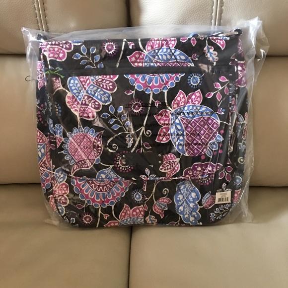Vera Bradley Bags   Double Zip Mailbag In Alpine Floral   Poshmark cfd8dcb079