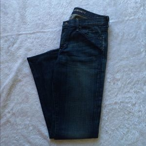 Citizens of Humanity Elsinore straight leg dk wash