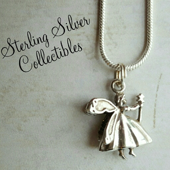 Jewelry gift idea sterling fairy godmother necklace poshmark sterling fairy godmother necklace aloadofball Gallery