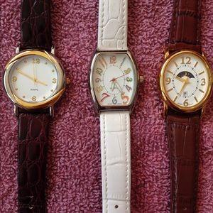 3 Avon watches!
