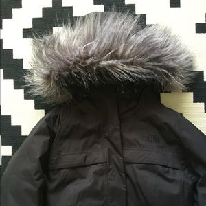 903546f8d Womens Arctic Parka Black Down Hyvent Hood Puffer