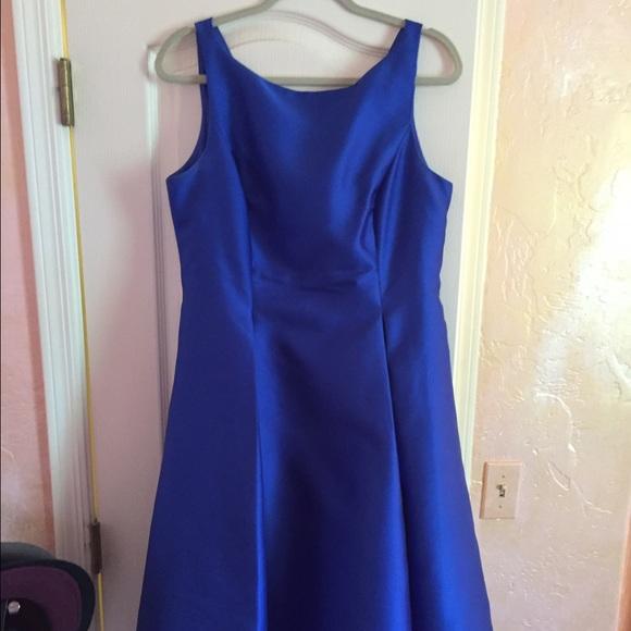 Sleeveless Taffeta Dress